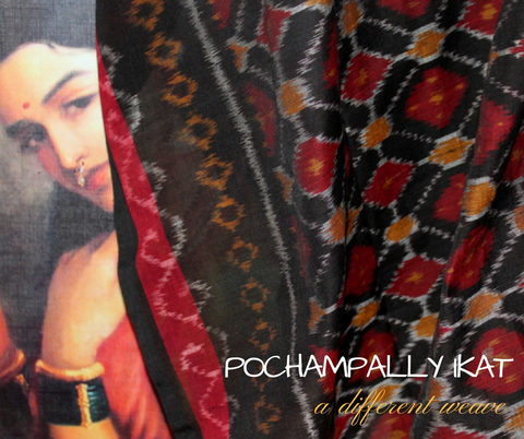Pochampally Ikat - a different weave