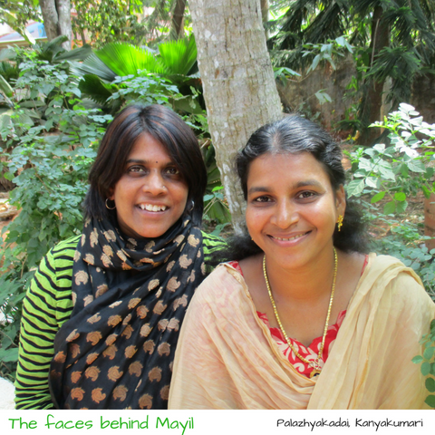 The faces behind Mayil scarves