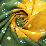 tie and dye winter shawls
