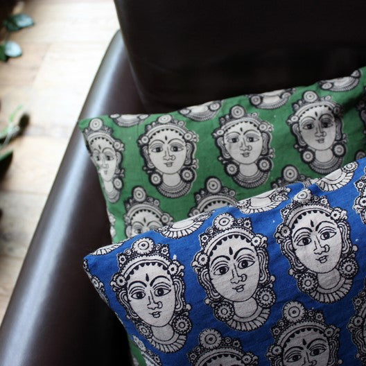 kalamkari cushion cover