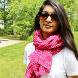 colorful scarves by Mayil handmade scarves