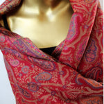 kani wool scarf - for the love of red