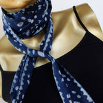 narrow  cotton skinny scarf