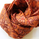 orange scarves for fall