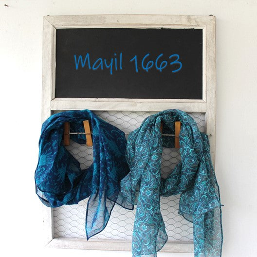mayil 1663 scarves with gift bag