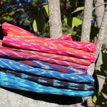 silk cotton ikat scarves