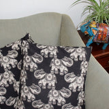 elephant block print cushion covers