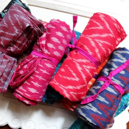 pochampally ikat scarves for winter women's fashion
