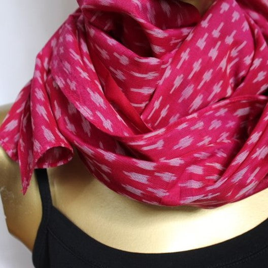 bright and cheery scarf