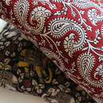 lots of designs in cotton fabric cushion covers