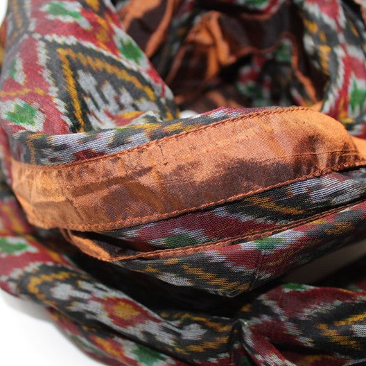 pochampally silk scarf