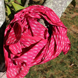 fuchsia scarves for your winter outfits
