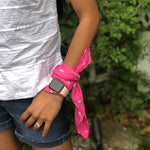 wrist wrap mini scarf