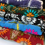 colorful gift scarves