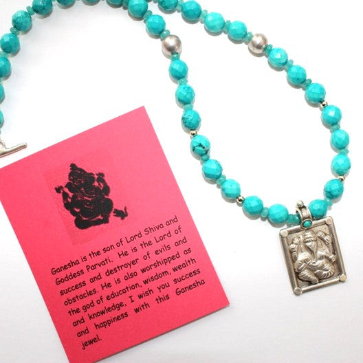ganesha pendant necklace