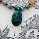 jade ganesha pendant necklace