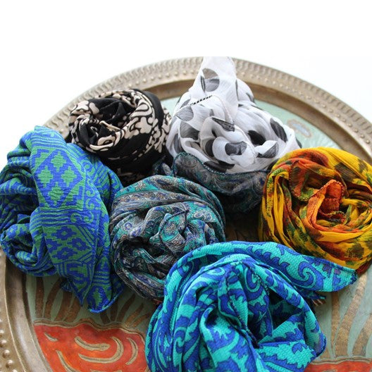 gift scarves for the holidays