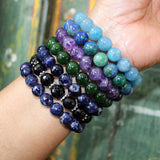 gift gemstone stretch bracelets