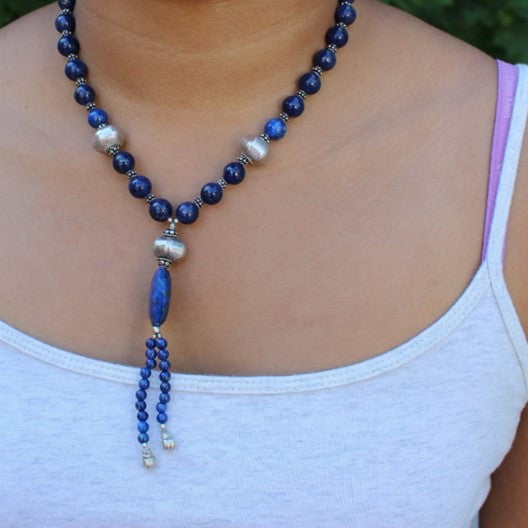 lapis and silver jewelry