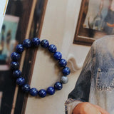 lapis blue bracelet for mom