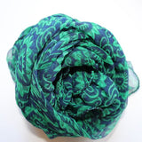 light weight green scarf