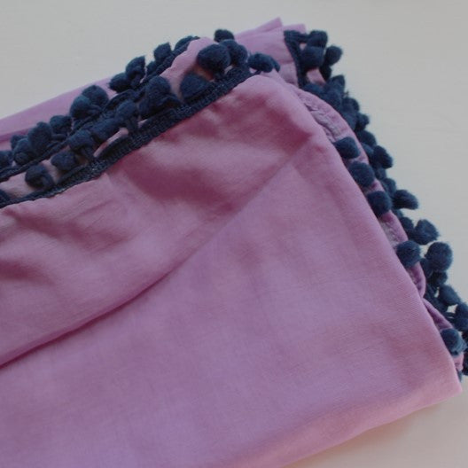 lilac scarves by mayil