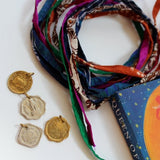 old indian paise coin charms