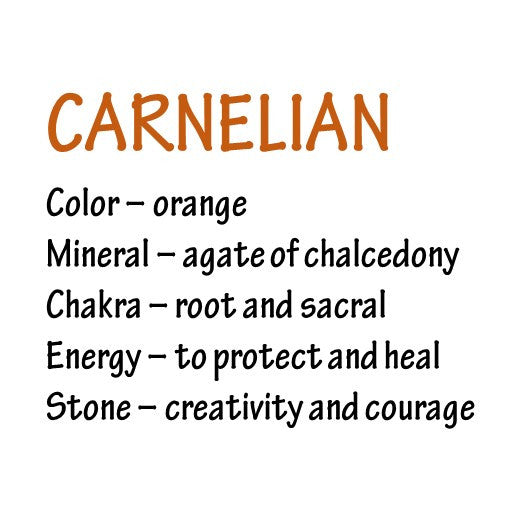 healing properties of carnelian