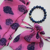 scarf and bracelet gift set for mother's day