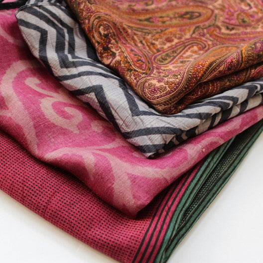 small silk scarves