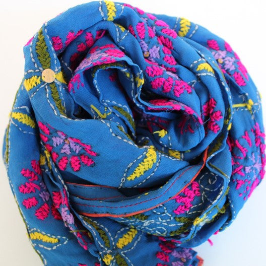 unique handmade scarves