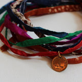 wristwrap with one pasie coin