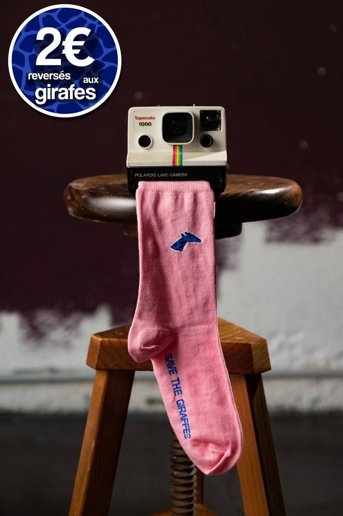 Chaussettes - Rose