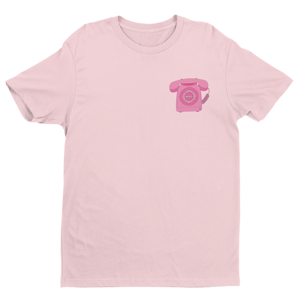 T-SHIRT UNISEXE RING FOR SEX - ROSE - Tina