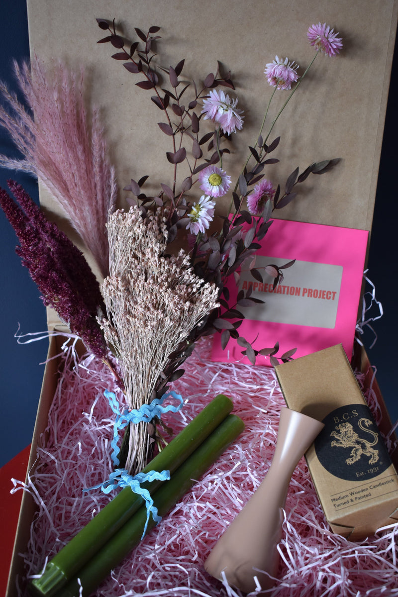 Box of Lovely Bits - Appreciation Project - Dried Flowers UK