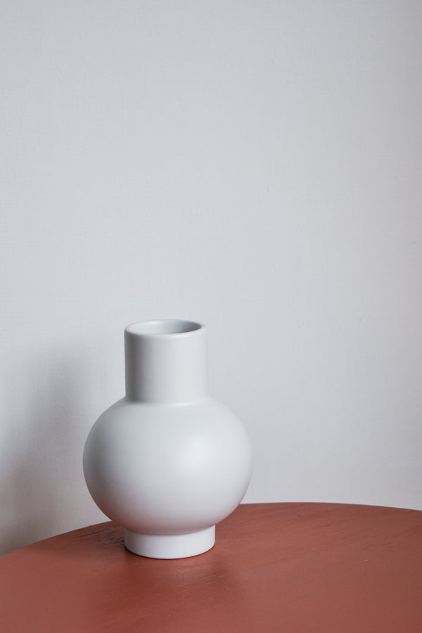 Raawii Strøm Vase (Small) - Vaporous Grey Dried Flowers - Appreciation Project