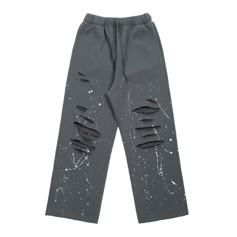 20FW RIPPED INK SLACKS