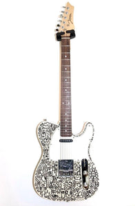 Custom 'Telecaster' Style Electric Doodle Guitar
