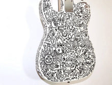 Load image into Gallery viewer, Custom 'Telecaster' Style Electric Doodle Guitar