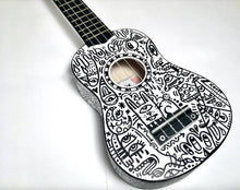 Load image into Gallery viewer, Ukulele Doodle 4
