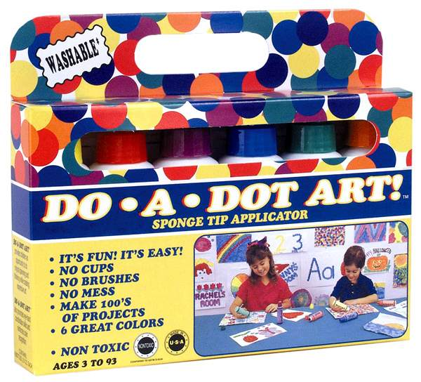 Do a Dot - 6 Rainbow Markers