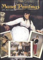 Manet Paintings 24 Art Cards