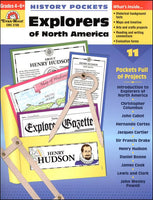Explorers of North America History Pockets