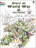 Story of World War II Coloring Book