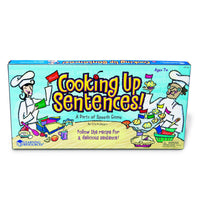 Cooking Up Sentences™ Parts of Speech Game