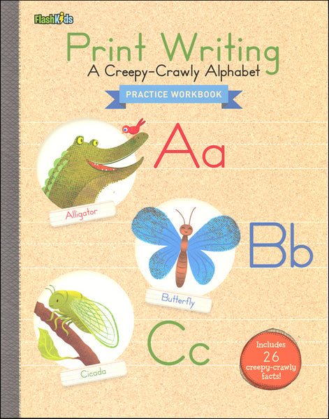 Print Writing: A Creepy-Crawly Alphabet