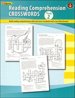 Reading Comprehension Crosswords: Grade 2