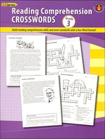 Reading Comprehension Crosswords: Grade 3