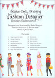 Sticker Dolly Dressing Fashion Designer: London Collection