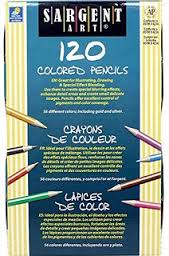 Sargent Art 120ct Colored Pencils